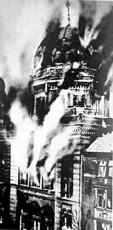 Synagogue Burning